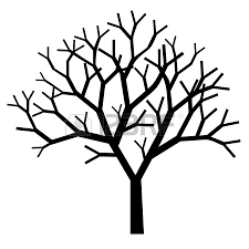free simple tree outline 47 with additional to print with simple