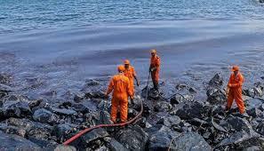 Seeking Chennai Chennai Spill Human Error Caused Ships To Collide Says Tamil