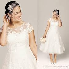 plus size wedding dresses with sleeves tea length discount plus size wedding dresses bridal gowns with