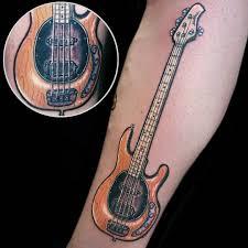 Bass Guitar Tattoo Ideas 100 Music Tattoo Designs For Music Lovers U2013 Lava360