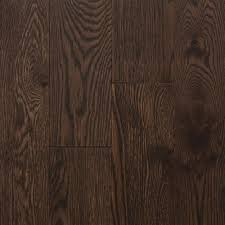 northern solid sawn structured wire brushed oak cocoa