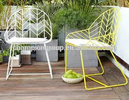 wire mesh outdoor chair white steel side chair wr 3341 buy steel