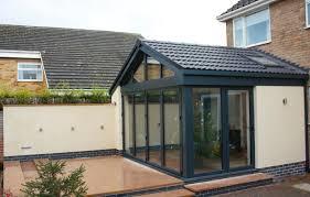 modern bi fold doors outdoor garden room craftsman style outdoor