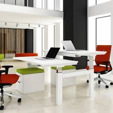 White Desk With File Cabinet by Home Office Home Office For Two Tropical Desc Bankers Chair