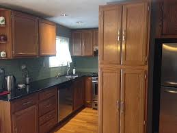 kitchen cabinet refinishing before and after how to refinish kitchen cabinets part 1 frugalwoods