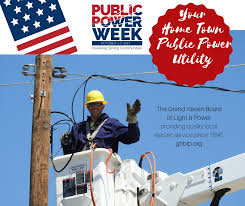 grand haven board of light and power public power week october 2 6 2017 board of light and power