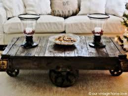 railroad cart coffee table old vintage railroad cart coffee table by our vintage home love if