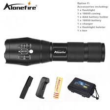 Torch Light Flashlight Usa Eu E17 Xm L T6 3800lm Aluminum Waterproof Zoomable Cree