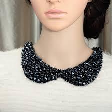 girl collar necklace images Peter pan collar necklace crystal choker false collar necklace jpg
