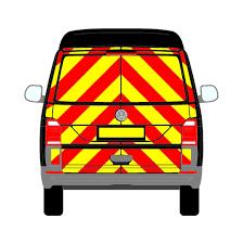 volkswagen clipart volkswagen transporter mk6 t6 standard roof full chevrons