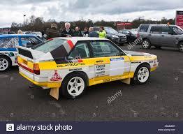 audi quattro audi quattro rally car in the paddock at oulton park motor racing