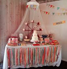 Circus Candy Buffet Ideas by 48 Best Vintage Circus Decoration Ideas For A Carnival Party