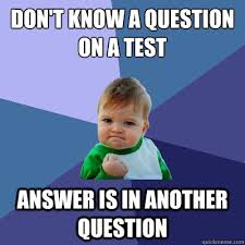 Test Taking Meme - the best feeling when taking a test feelings success kid and meme
