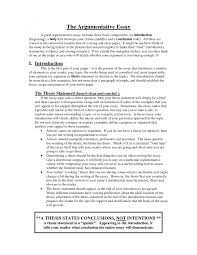 How To Write An Essay Introduction Sample Essay Introduction Thesis Statement Examples