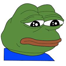 Depressed Frog Meme - clipart sad frog feels bad man meme