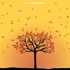 imagenes animadas de otoño vector árbol de otoño descargar vectores gratis