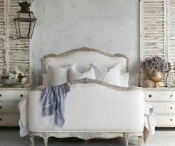 bed sophia two tone silver king