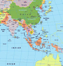 South East Asia Map Southeast Asia And South Pacific Map New Asia And South Pacific