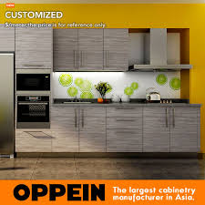 Kitchen Cabinet Factory 7 Days Delivery Blum Hardware Wood Grain Laminate Kitchen Cabinet