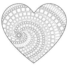 coloring pages of a heart a coloring page of a heart tender heart alphabet c coloring page