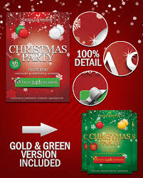 15 christmas party flyer psd images christmas party flyer
