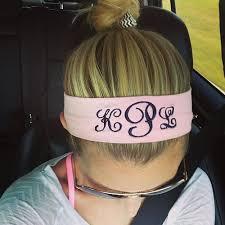 monogram headband monogram headband i would so rock this starting at 10 www