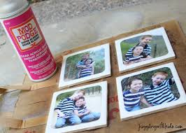 diy photo coasters for father u0027s day u2013 juggling with kids