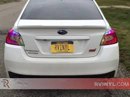 tail light tint installation rtint chameleon smoke tint car wrap film