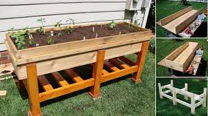 diy planter box diy planter box that is just the right height diy cozy home
