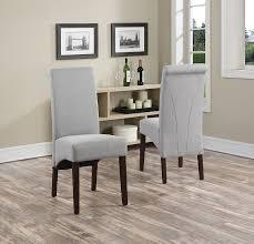 Parsons Kitchen Table by Amazon Com Simpli Home Avalon Linen Deluxe Parson Chair Dove