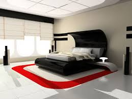 spectacular red and black color scheme for bedroom 34 for home