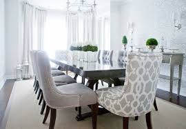White Fabric Dining Chairs Awesome Grey Fabric Dining Room Chairs For Worthy Chair In Cloth
