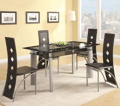 amazing black white metal modern dining room chairs rectangle navy