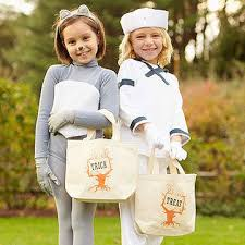 Personalized Cotton Candy Bags Trick Or Treat 15 Homemade Bag U0026 Bucket Ideas