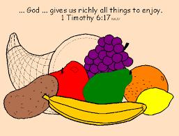 blessings bible lessons cornucopia november
