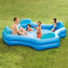 furniture large rectangle walmart inflatable pool for outdoor
