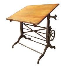 Antique Drafting Tables Vintage Drafting Table Drawing Home Decorations Making A