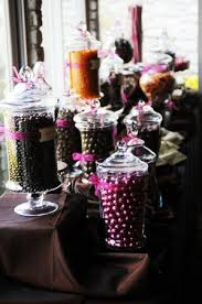 Pink And Black Candy Buffet by 105 Best Candy Buffets Images On Pinterest Candy Table Marriage