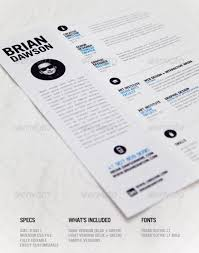 infographic resume templates 25 superb resume templates
