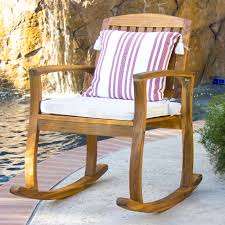 Patio Furniture Rocking Chair Outdoor Rocking Chairs With Cushions Bistrodre Porch And