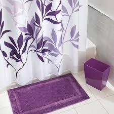 amazon com interdesign leaves shower curtain purple 72 inch by