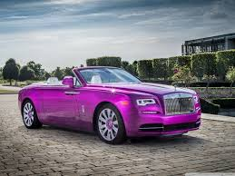 roll royce phantom 2017 wallpaper rolls royce dawn in fuxia 2017 4k hd desktop wallpaper for 4k