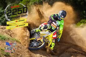 z racing motocross track 2 250 championship bonus on suzuki u0027s rm z motocross range