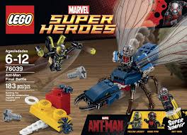 amazon black friday juguetes de disney amazon com lego superheroes marvel u0027s ant man 76039 building kit