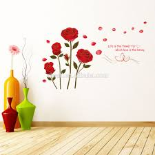 6005 y rose decals flowers plant wall decals room decor wall art 6005 y rose decals flowers plant wall decals room decor wall art love wall decals