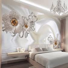online get cheap silk wallpaper aliexpress com alibaba group custom mural wallpaper modern silk cloth diamond large wall painting wall art mural for living room