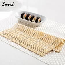 materiel cuisine japonais sushi roulement tapis bambou riz antiadhésive cuisine japonais