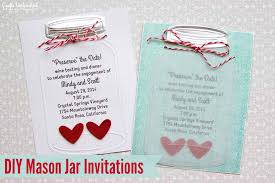 jar wedding invitations jar wedding invitations crafts unleashed