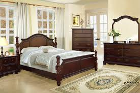 solitare luxury solid wood bedroom set king on line only