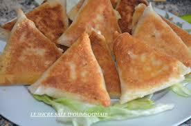 cuisine marocaine brick brick camembert pommes de terre et lardons le sucré salé d oum